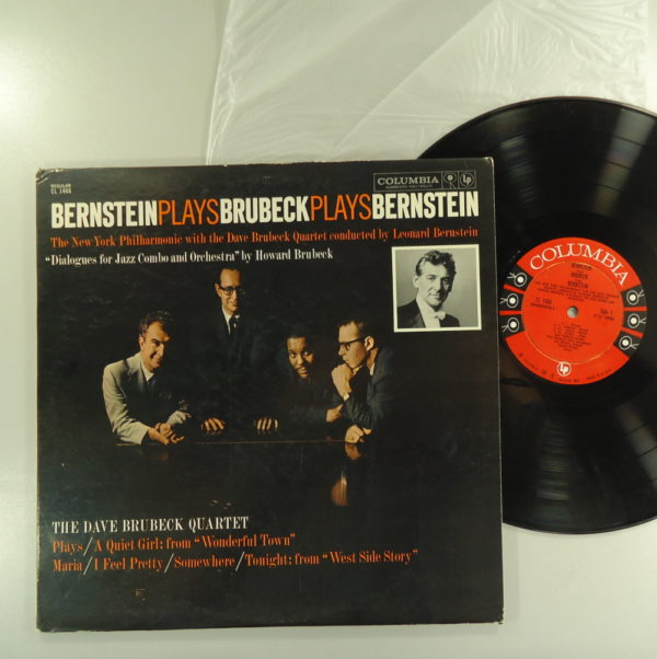 The Dave Brubeck Quartet ‎– Bernstein Plays Brubeck Plays Bernstein
