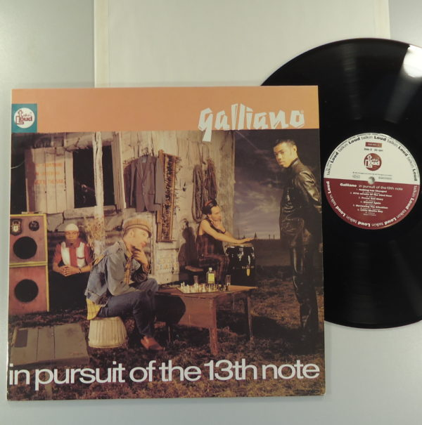 Galliano ‎– In Pursuit Of The 13th Note