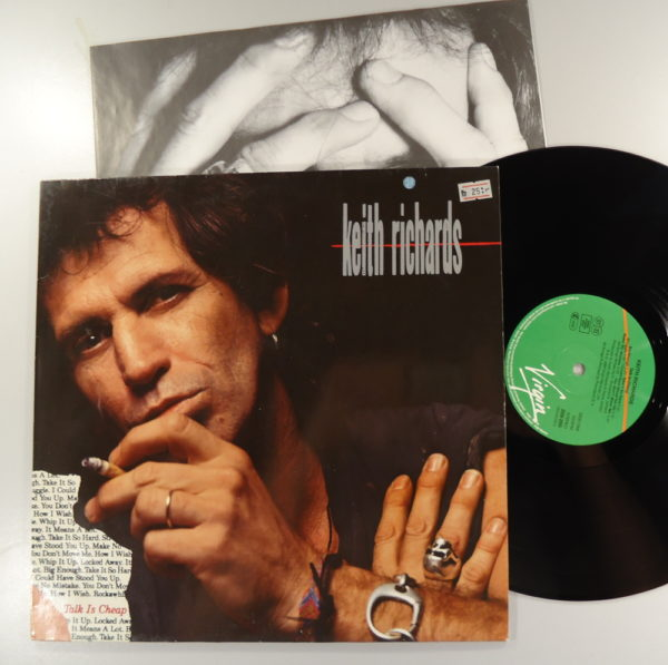 Keith Richards ‎– Talk Is Cheap