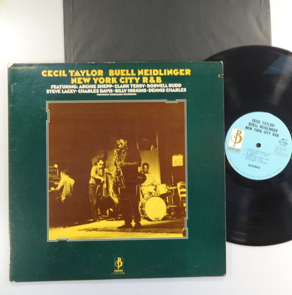 Cecil Taylor, Buell Neidlinger ‎– New York City R&B