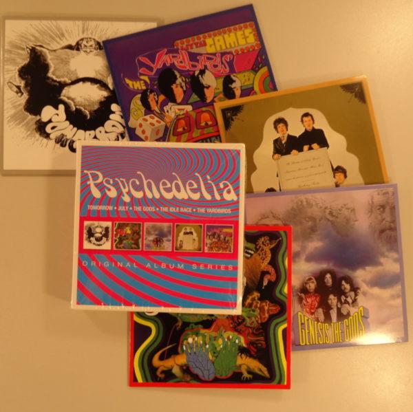 Tomorrow, July, The Gods, The Idle Race, The Yardbirds  - Psychedelia
