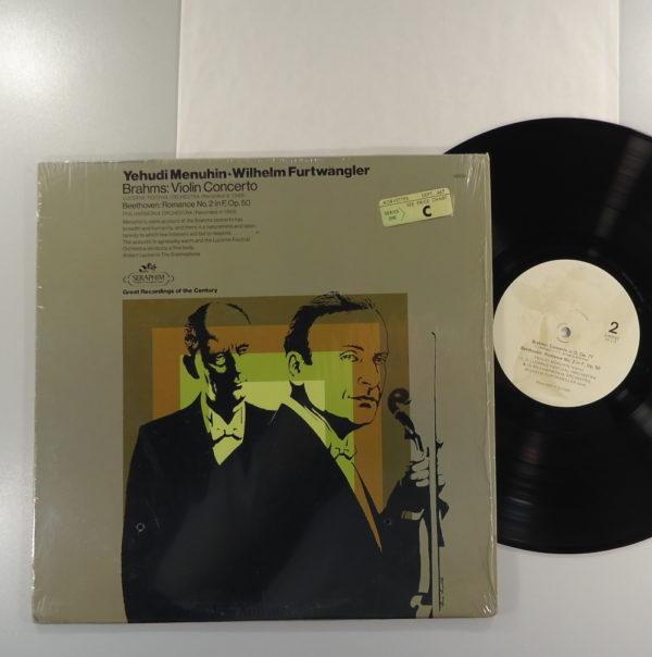 Yehudi Menuhin - Violin Concerto / Romance No. 2 In F, Op. 50