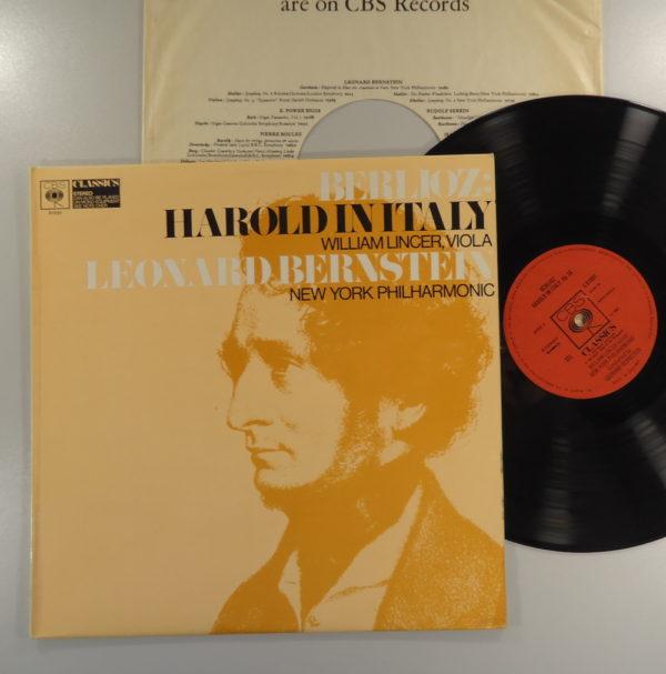 Berlioz, William Lincer, Leonard Bernstein – Harold In Italy