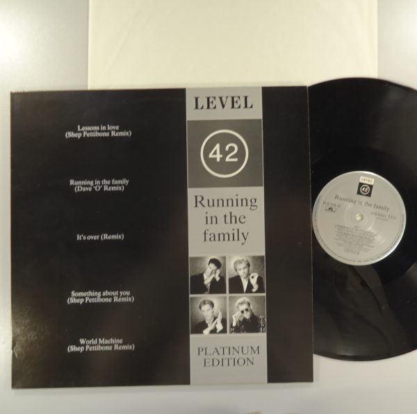 Level 42 – Running In The Family • The Platinum Edition
