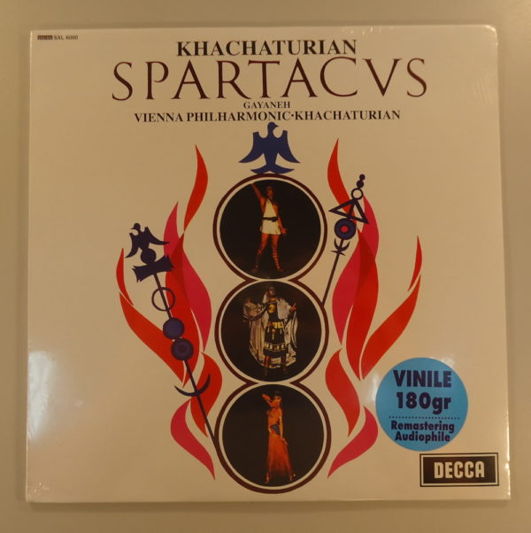 Khatchaturian, Wiener Philharmoniker – Spartacus/Gayaneh