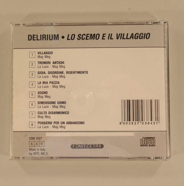 Delirium – Lo Scemo E Il Villaggio