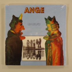 Ange ‎– Caricatures