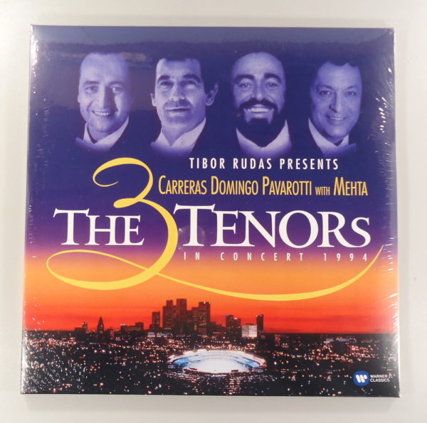 Carreras - Domingo - Pavarotti with Mehta – The 3 Tenors In Concert 1994