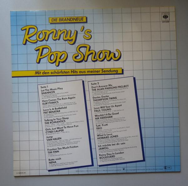 Die Brandneue Ronny's Pop Show