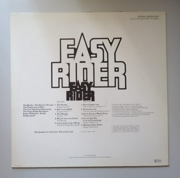 Easy Rider (Music From The Motion Picture)