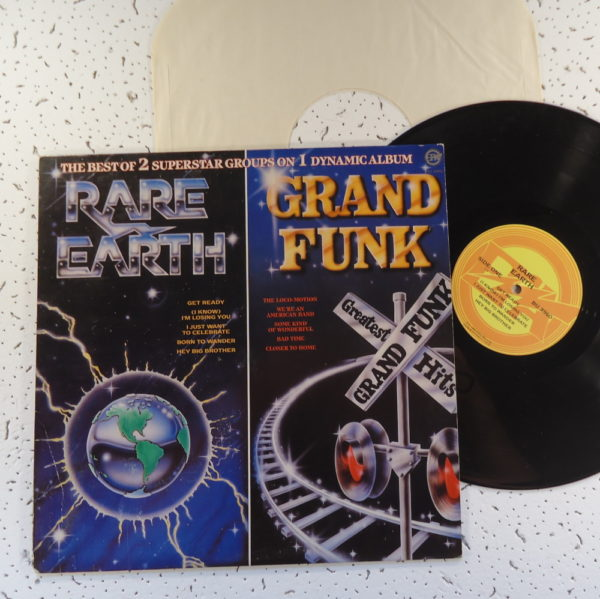 Rare Earth / Grand Funk – The Best Of 2 Superstar Groups On 1 Dynamic Album